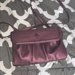 Vera Wang Purple Purse
